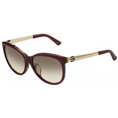 Cat Eye Brown Gradient Sunglasses Plus Free Shipping