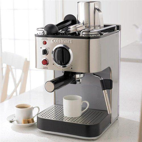 Refurbished Cuisinart EM100 15 Bar Stainless Steel Espresso Maker