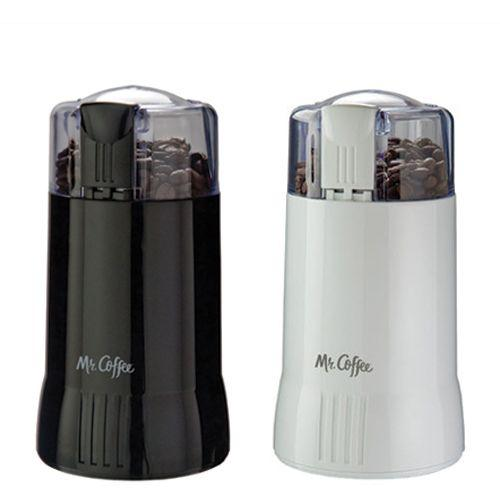 White And Black Mr. Coffee Grinder