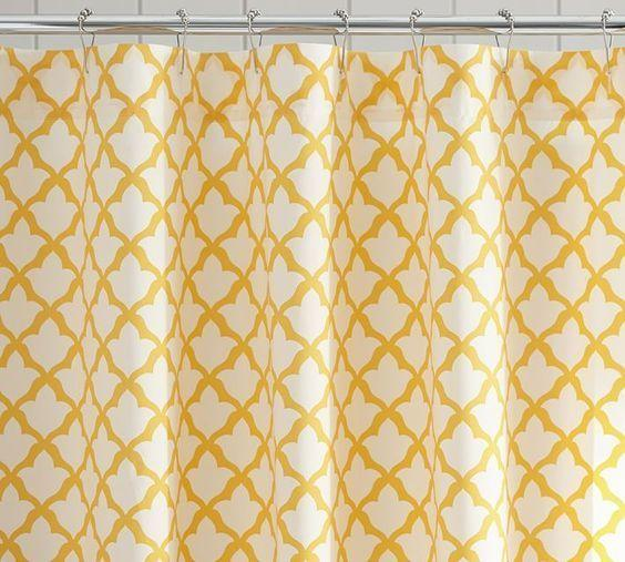 Organic Marlo Shower Curtain