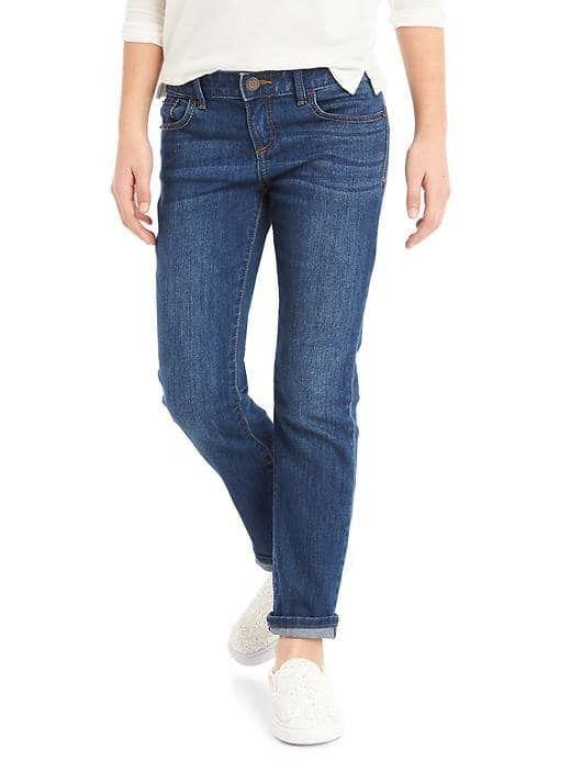 Women Stretch Straight Jeans