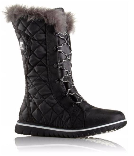 Sorel manufactures shoes and liners for men, women and children with its specialty winter footwear. The collection includes the men's cheyanne premium and women's Tivoli slip and shoes and boots are available in a range of colors and sizes. Customers are pleased with the durability of the boots.