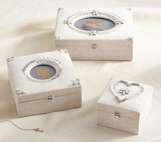 Beaded Heirloom Jewelry Box Collection
