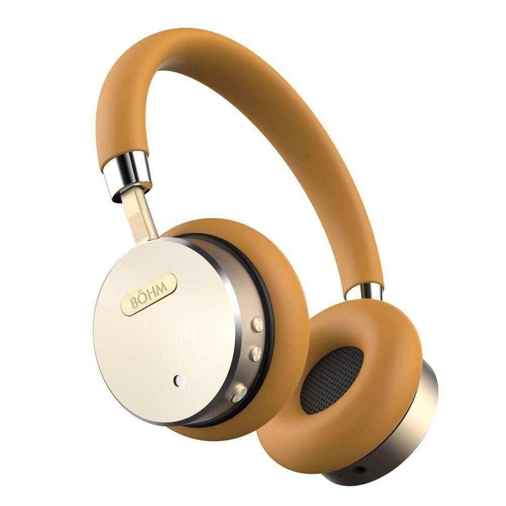 BOHM Wireless Bluetooth Headphones With Active Noise Canceling Technology