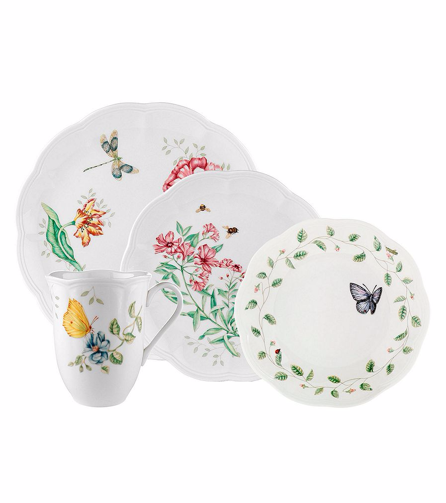 Lenox Butterfly Meadow 4 Pieces Place Setting
