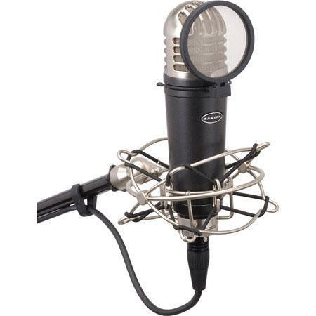 Samson 1 Diaphragm Studio Condenser Microphone With Shockmount