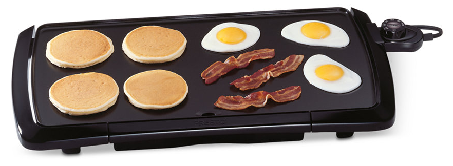 Jumbo Cool Touch Presto 07030 Griddle