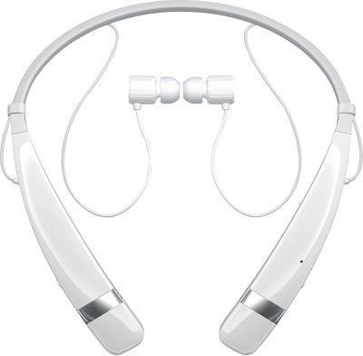 White LG HBS 760 Tone Pro Bluetooth Stereo Headset