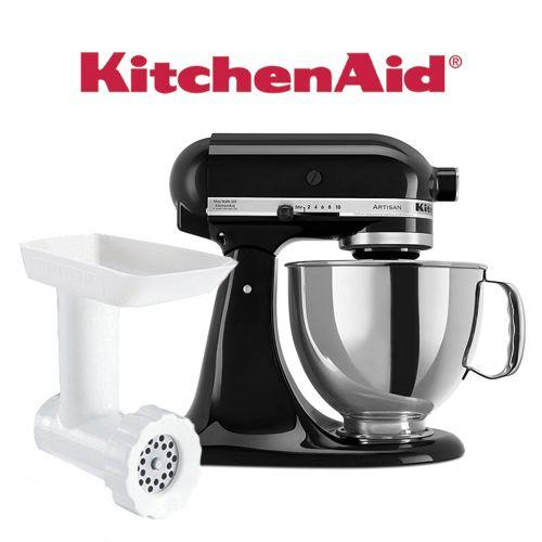 Stainless Steel Kitchen Aid Artisan Stand Mixer