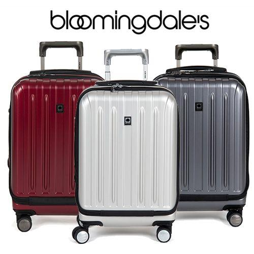 Delsey Titanium International 19 Inch Carry On Expandable Spinner Trolley