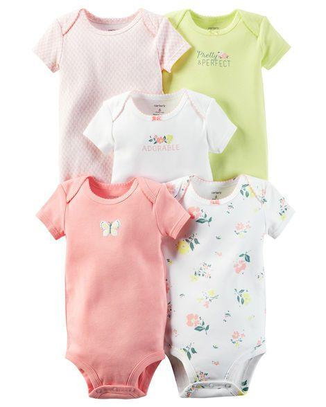 5 Pack Original Bodysuits