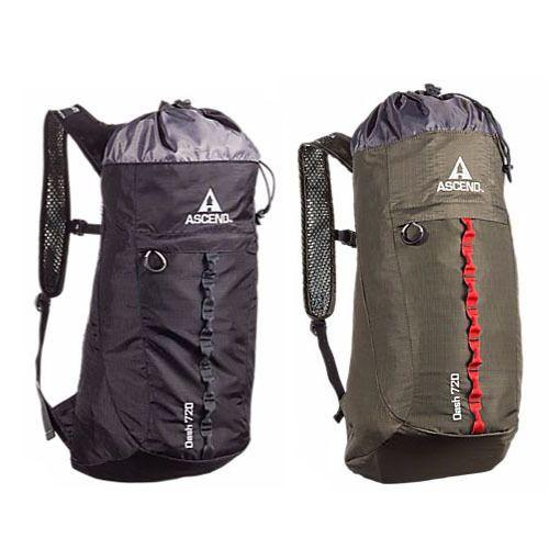 Durable Ascend Dash 720 Lightweight Backpack
