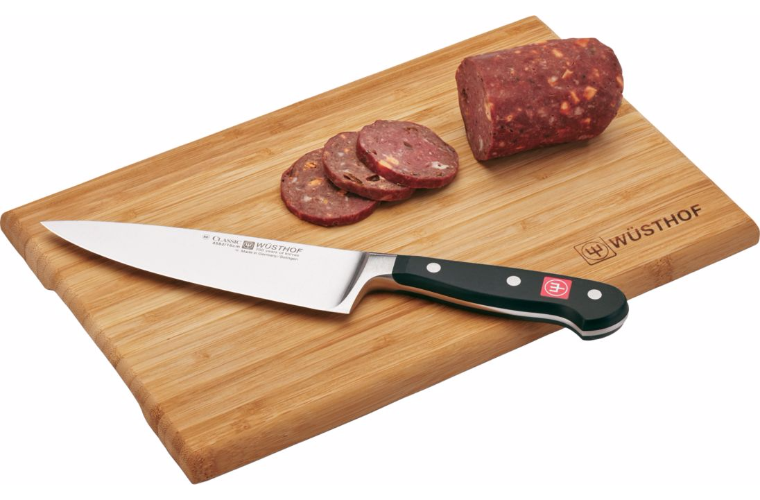 Wusthof Classic 6 Inch Cook Knife With Cutting Board