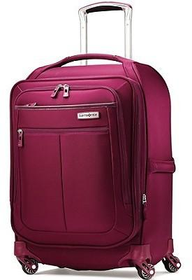 Berry Samsonite Mightlight 21 Inch Ultra Lightweight Spinner Luggage