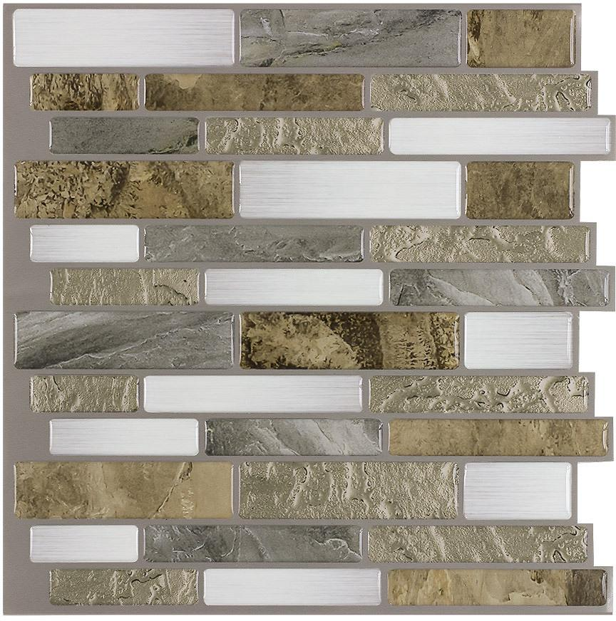 Stylish Linear Mosaic Composite Wall Tile