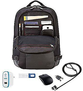 Durable Dell Premium Laptop Keyed Lock Backpack