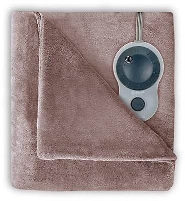 Luxurious Warmth Velvet Plush Heated Blanket