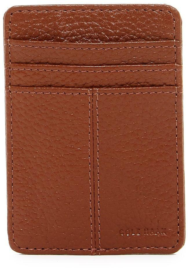 Leather Exterior Front Pocket Leather Wallet