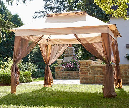 Wilson And Fisher Tan Pop Up Canopy With Netting