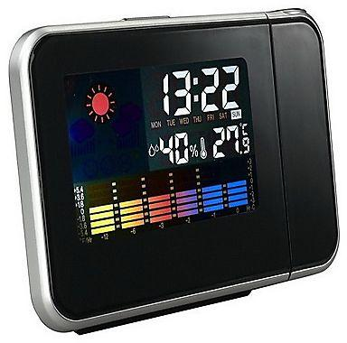 Ultra Modern LED Electronic Clock Weather Forecast Projection Alarm Clock