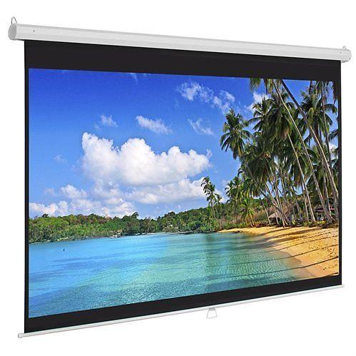 Manual Pull Down Projector Screen For Home Theater