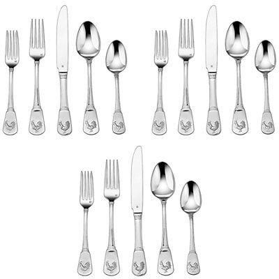 3 Pack Of 20 Piece Cuisinart Elite Flatware Set