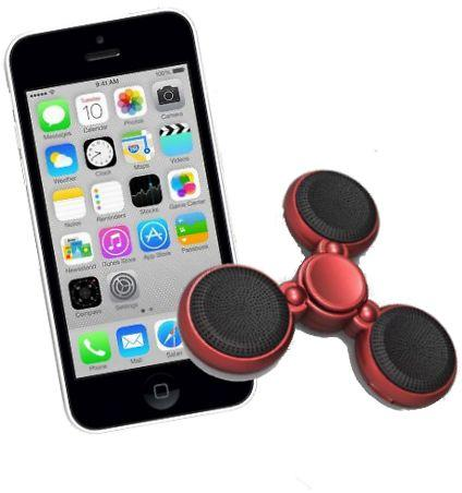 Fidget Spinner Bluetooth Speaker Plus Free Shipping