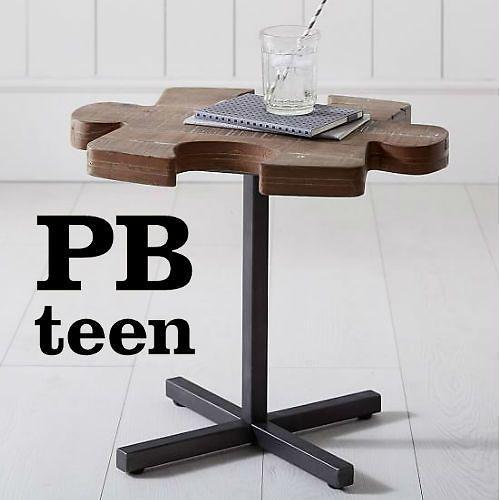 Puzzle Side Table And More. 60  Off PBteen Coupons   Promo Codes Dec 2017