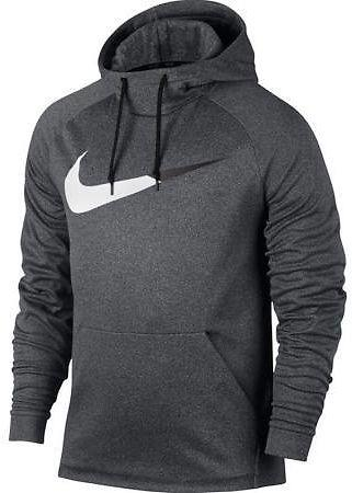 Polyester Imported Men Therma Swoosh Graphic Nike Hoodie