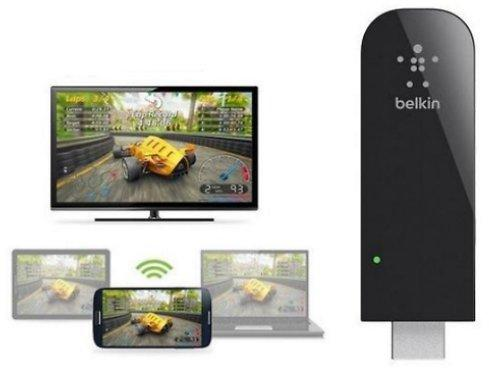 Wireless Belkin Miracast HDMI Video Adapter