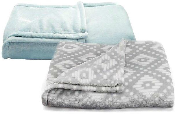 The Big One Super Soft Plush Throw Blanket