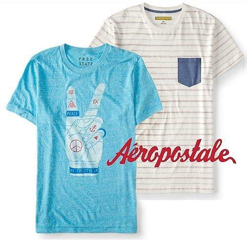 $5 Aeropostale Graphic Tees Riot Sale With 20% Off Purchase