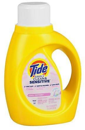 Odor Fighting Power Tide Simply Clean Liquid Detergent