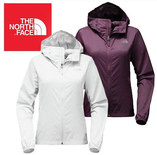 White The North Face Women Cyclone 2 Hooded Jacket