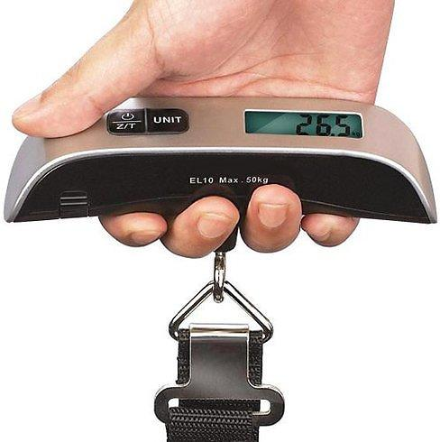 Portable 1.4 inch LCD Display Luggage Scale