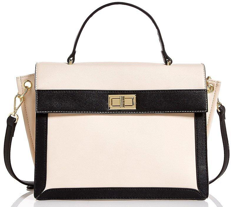 Natural Joy Faux Leather Satchel