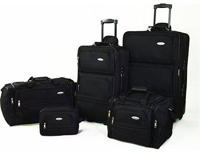 Samsonite 5 Piece Nested Travel Luggage Set Plus Ships Free
