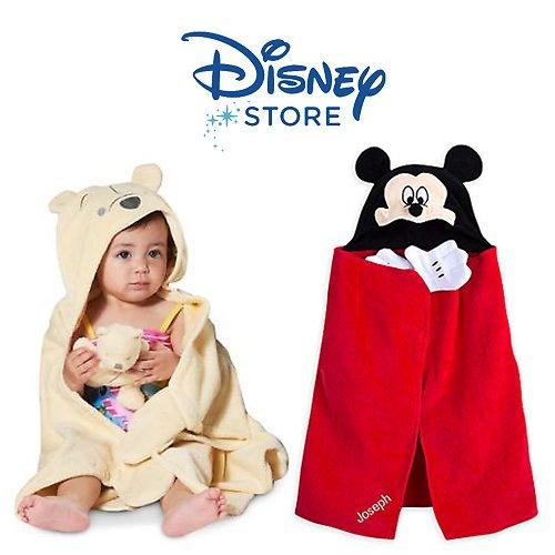 Personalizeable Disney Hooded Towels