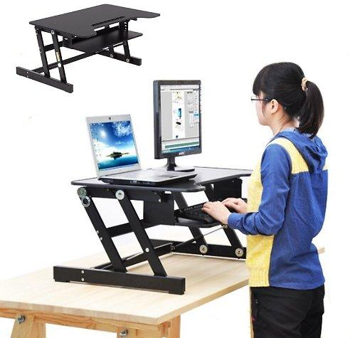 Comfort Adjustable Standing  Workstation Riser Desk