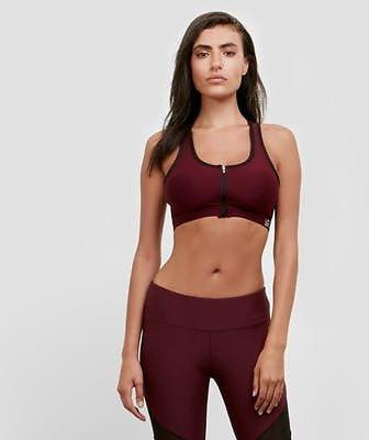 Imported Breathable Mesh Front Zip Kenneth Cole Bra