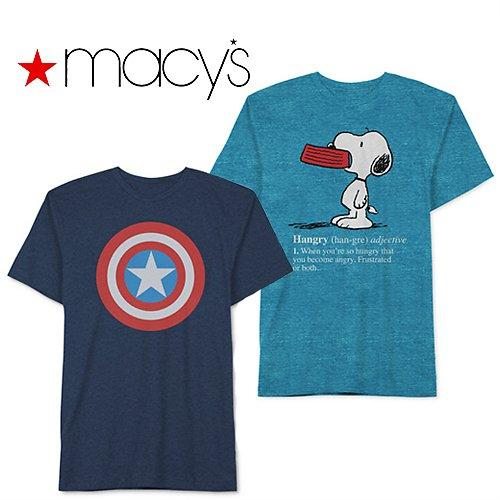 Men Graphic Tshirts Only $4.99