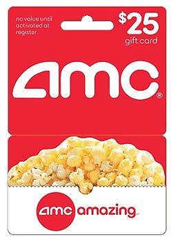 Get $25 AMC Gift Card For $18.99