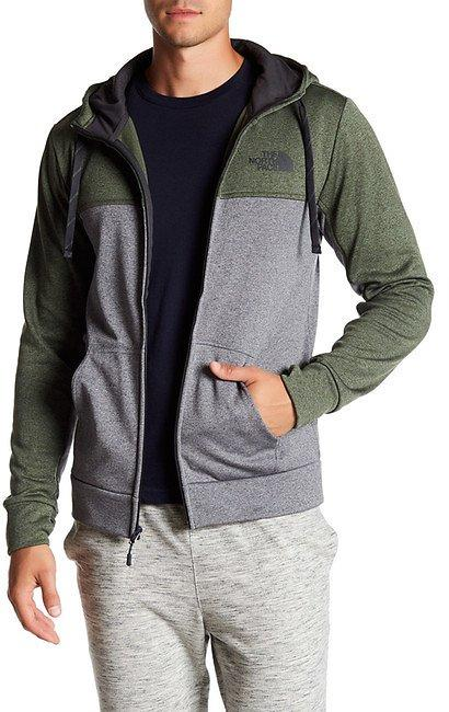 The North Face Front Zip Logo Hooded Jacket