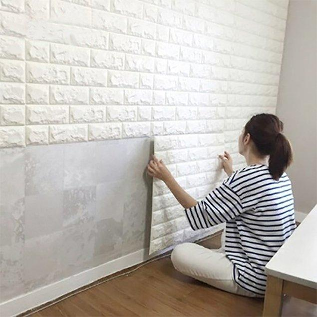 Lightweight Peel and Stick 3D Wall Panel