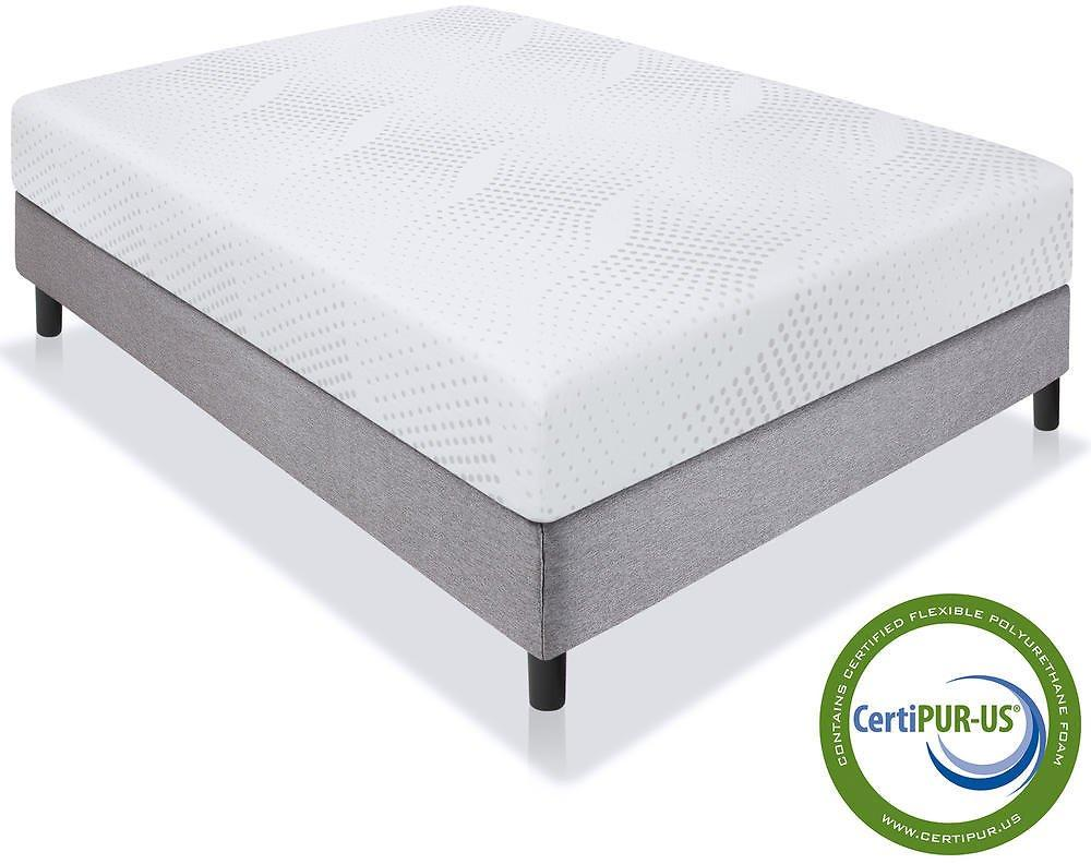Queen Best Choice Dual Layered Memory Foam Mattress