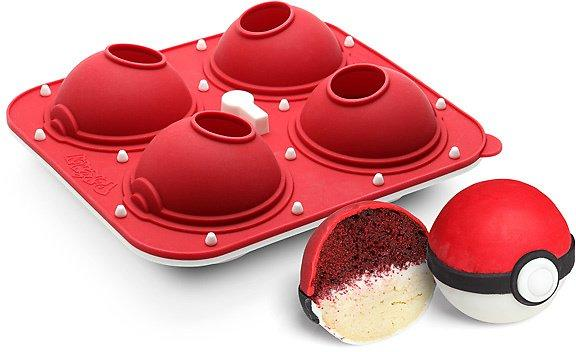 Poke Ball Cupcake Pan