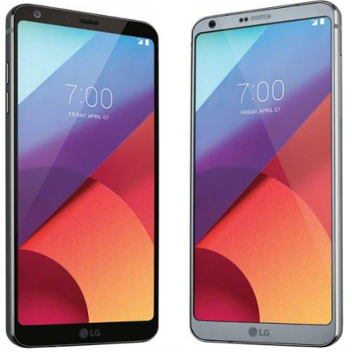 Black LG G6 32GB Smartphone Plus Ships Free