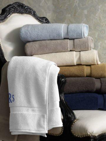 Luxuriously Langdon Solid Wash Towels