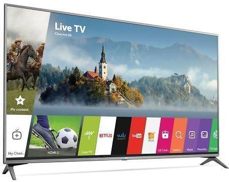 Ultra Modern Slim 75 Inch 4K LG HD  Smart TV