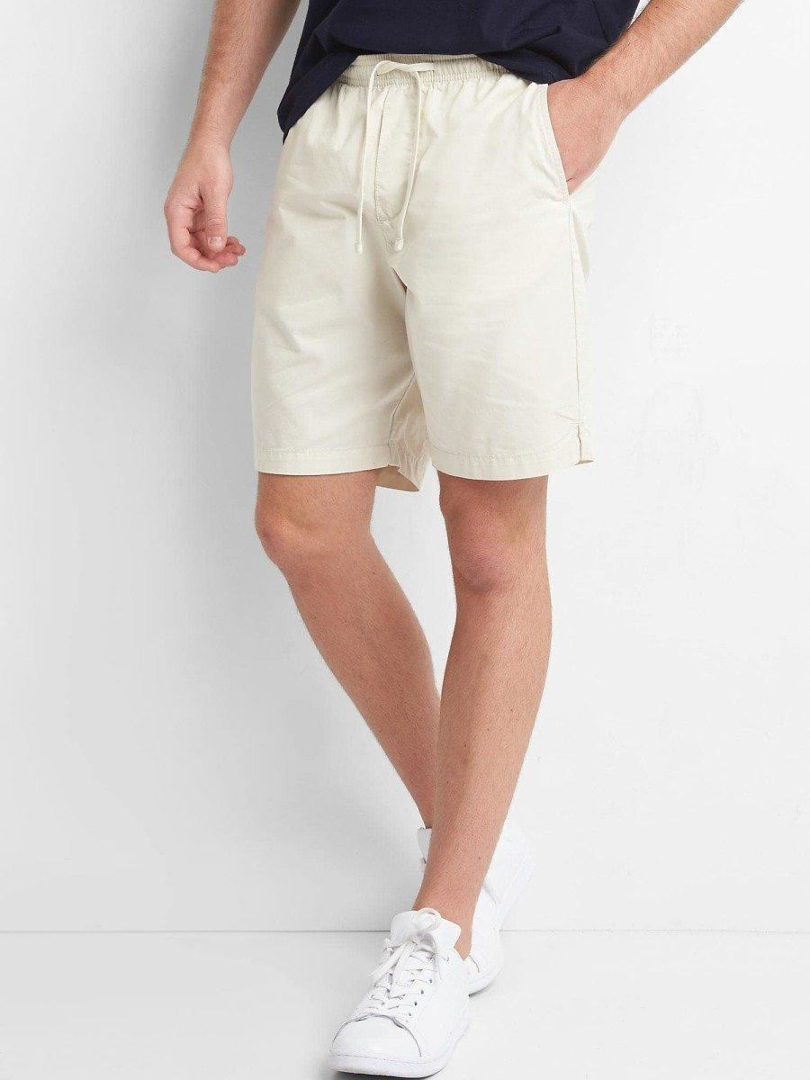 Lived In Drawstring Shorts Plus Ships Free